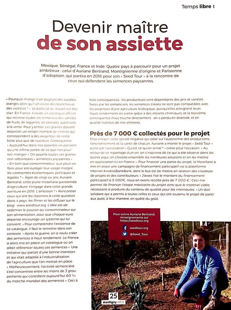 Article Montigny Infos_Dec17_1